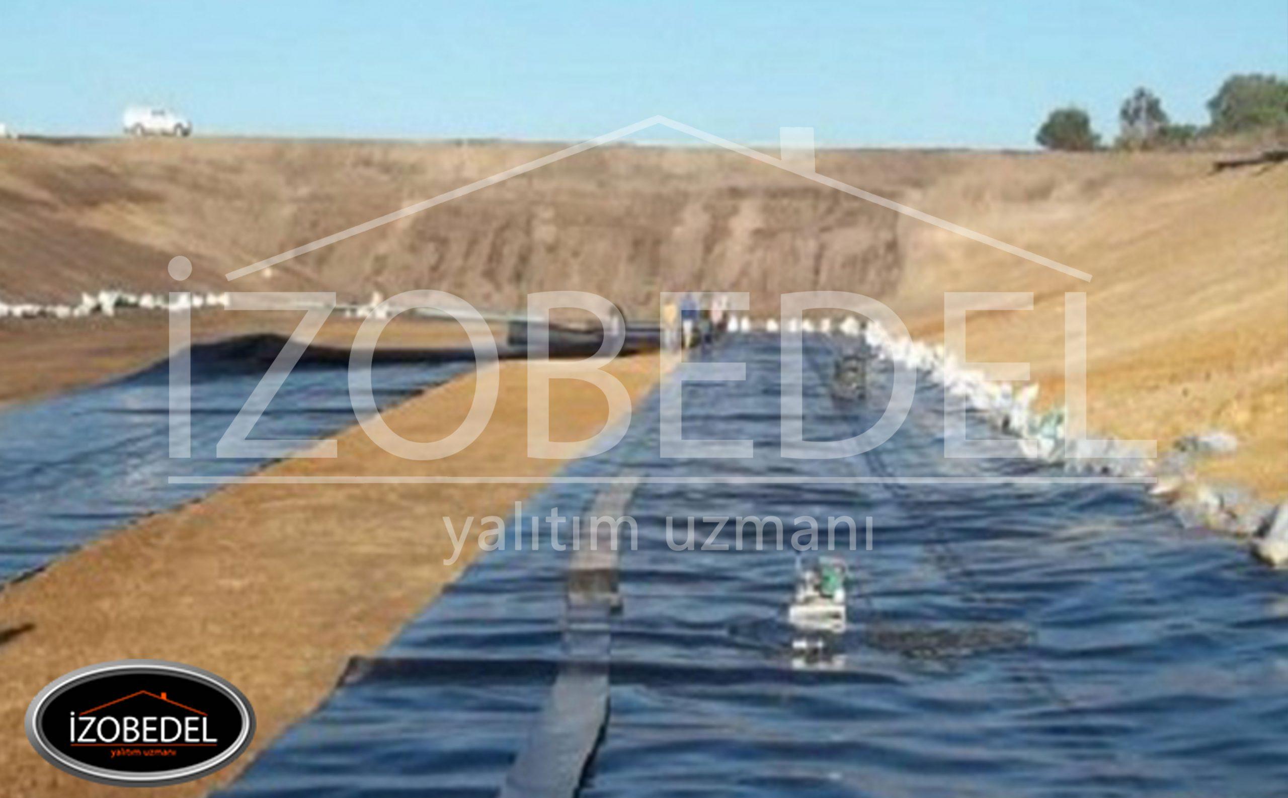 baraj su yalıtımı